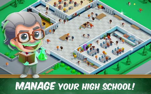 Idle High School Tycoon - Management Game  screenshots 8