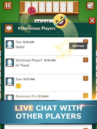 Dominoes Pro   Play Offline or Online With Friends  Screenshots 19