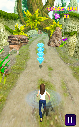 Royal Princess Running Game - Jungle Run 2.4 screenshots 4