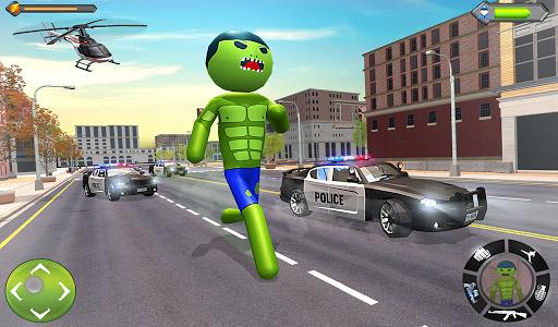 Stickman Incredible Monster : Hero Prison Escape screenshots 11