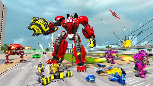 Spider Robot Game: Space Robot Transform Wars 1.0 screenshots 4