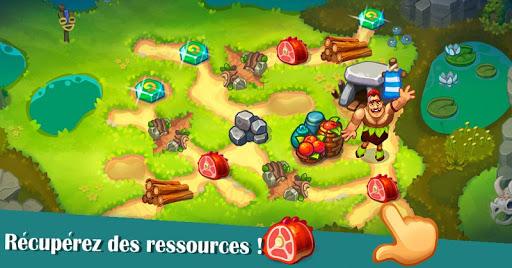 Télécharger Tribe Dash - Retour à l'âge de pierre  APK MOD (Astuce) screenshots 1