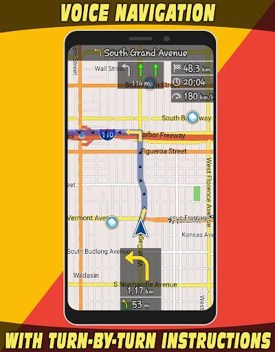 GPS Navigator with Offline Maps 2.6 Screenshots 3