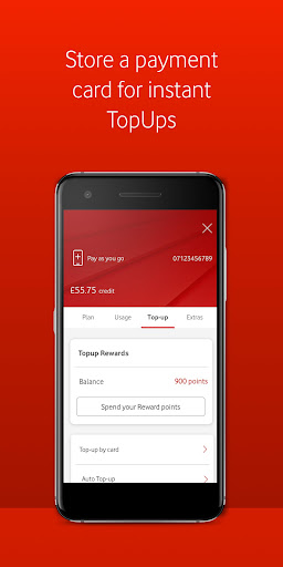 My Vodafone android2mod screenshots 6