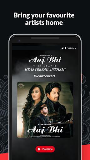 Wynk Music- New MP3 Hindi Songs Download HelloTune 3.11.4.0 screenshots 5