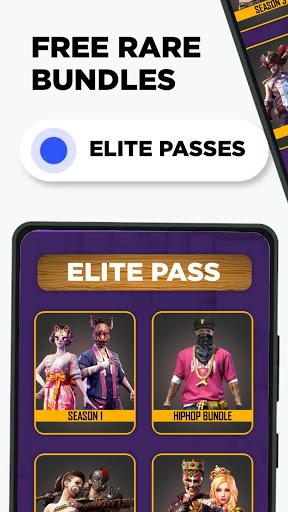 FFF: FF Skin Tool, Elite pass Bundles, Emote, skin android2mod screenshots 6