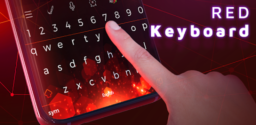 Red Keyboard Themes Wallpapers Apps On Google Play
