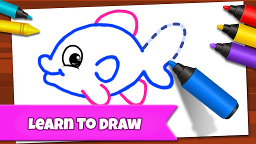 Drawing Games: Draw & Color For Kids  screenshots 4