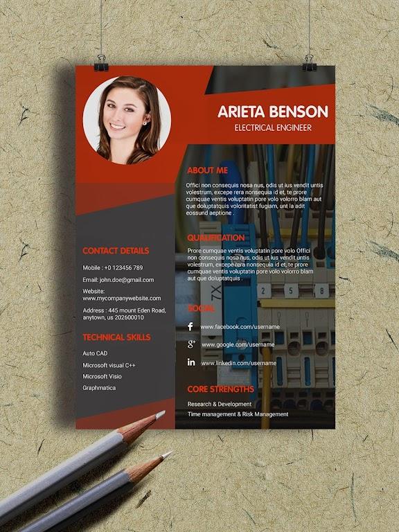Resume Template, Resume Writer & Cover Letter  poster 6