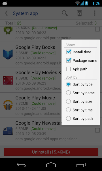 System app remover Pro MOD APK Download