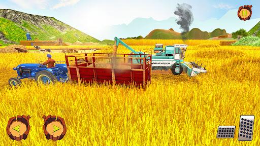 Real Tractor Farm Simulator: Tractor Games Free 1.0.1 screenshots 2