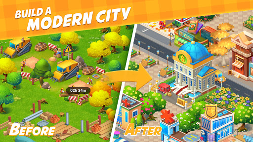 Farm City : Farming & City Building Apkfinish screenshots 3