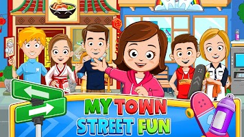 My Town: After School Neighborhood Street
