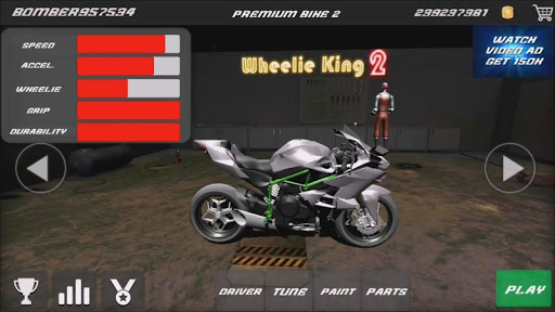 Motorbike - Wheelie King 2 - King of wheelie bikes 1.0 screenshots 10