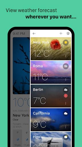 Today Weather - Widget, Forecast, Radar & Alert 1.5.0-21.211120 Screenshots 3