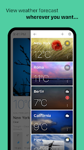 Today Weather - Weather Forecast, Widget & Radar screenshots 4