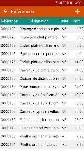 Devis & Factures Bu00e2timent 3.10.0.0 screenshots 5