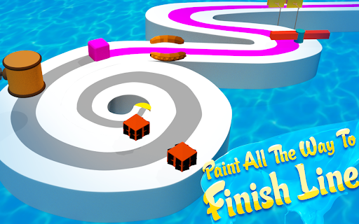 Line Color Game: 3D Adventure  screenshots 11