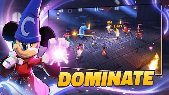 Disney Sorcerer's Arena MOD Apk (Always Win) Download 9