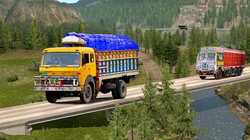 Real Indian Cargo Truck Simulator 2020: Offroad 3D  screenshots 6
