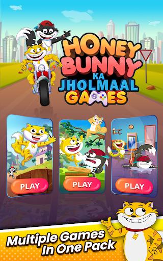 Honey Bunny Ka Jholmaal Games : Rise Up Jump & Run 1.0.3 screenshots 17