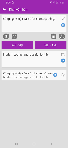 Dich tieng Anh - Tu dien Anh Viet TFlat android2mod screenshots 4