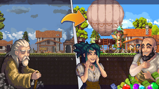🏡Miners Settlement: open world idle clicker game 1.1.3 screenshots 1