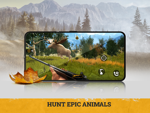 Code Triche theHunter - 3D hunting game for deer & big game  APK MOD (Astuce)