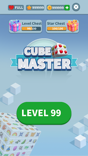 Cube Master 3D - Match 3 & Puzzle Game  screenshots 1