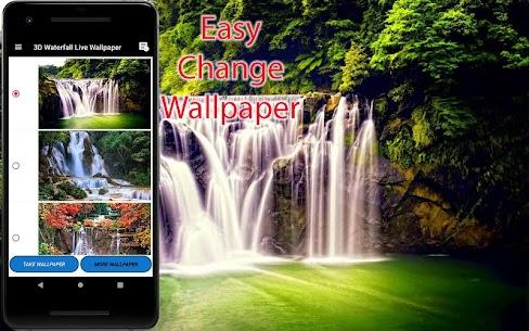 3D Waterfall Wallpaper – Screen Lock, Sensor, Auto 170.GG [Mod + APK] Android 2