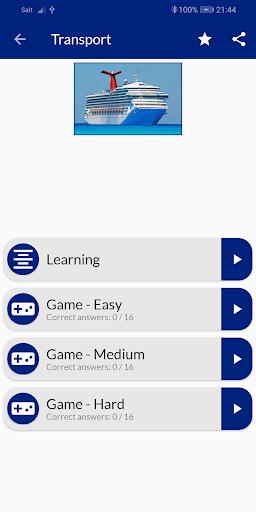 Learn English vocabulary free  screenshots 2