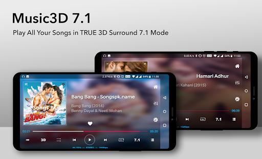 Music Player 3D Surround 7.1 (FREE)  Screenshots 2