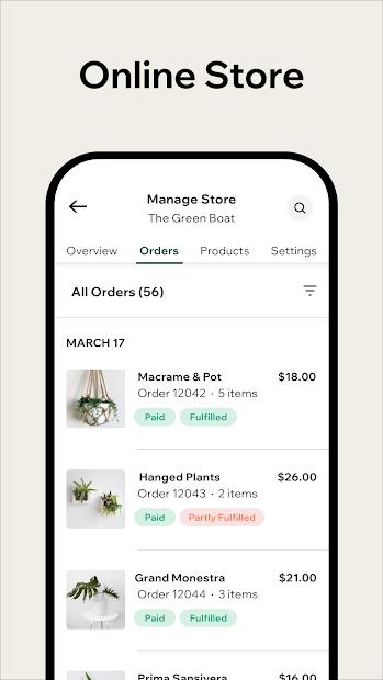 Imágen 5 de Wix Owner: crea sitios, tiendas online o blogs para android