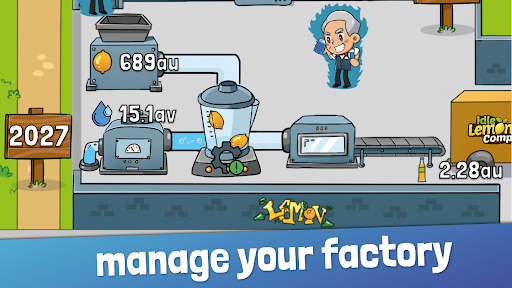 Idle Lemonade Tycoon - Manage your Idle Empire screenshots 1