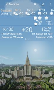 YoWindow – точная погода на экране телефона 1