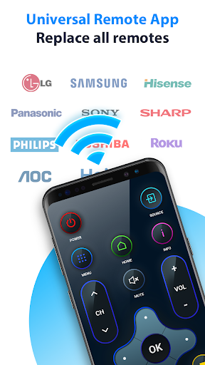 Universal remote tv - fast remote control for tv android2mod screenshots 5