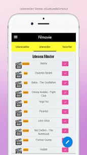 Filmovie –  Film ve Dizi Takip Uygulaması 2