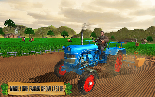 Farming Tractor Driver Simulator : Tractor Games android2mod screenshots 6