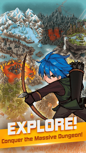 Dungeon & Hunter : Legendary Archer Pixel Idle RPG 1.4.13 screenshots 2