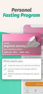 BodyFast Intermittent Fasting Tracker - Diet Coach 3.7.12 Screenshots 6