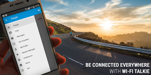 Talkie - Wi-Fi Calling, Chats, File Sharing 3.0.1 screenshots 1