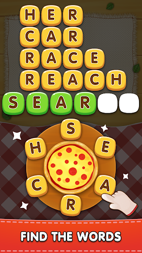 Word Pizza - Word Games Puzzles 2.3.4 screenshots 1