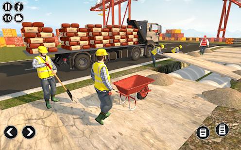 Road Construction Simulator - Road Builder Games  Screenshots 7