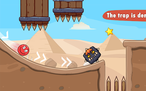 Bounce Ball 7 : Red Bounce Ball Adventure 1.3 screenshots 12