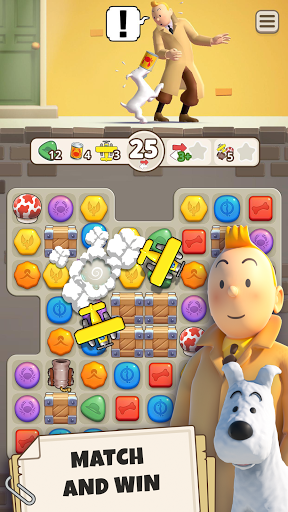 Tintin Match android2mod screenshots 2