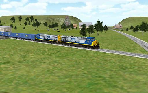 Train Sim  APK MOD (Astuce) screenshots 5
