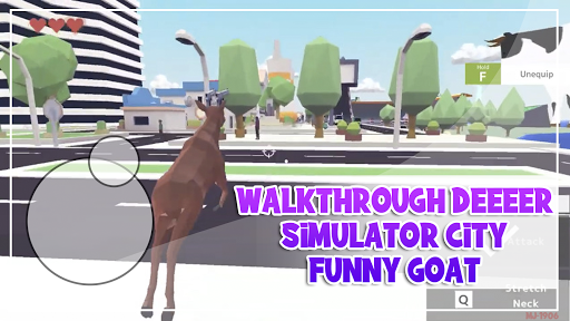 Walkthrough Deeeer Simulator City Funny Goat 2021 1.0 screenshots 1
