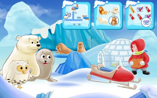 Polar Bear Cub - Fairy Tale with Games Free  screenshots 9