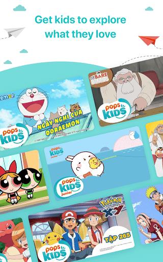 POPS KIDS - Edutainment, Cartoon & Children's song screenshots 10