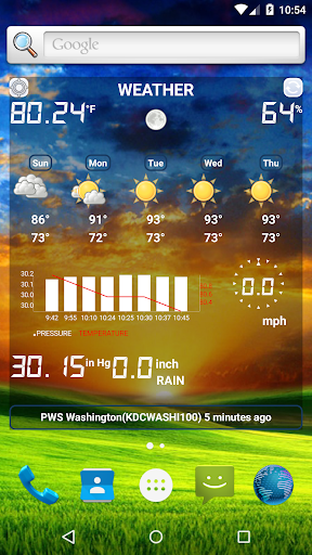Weather Station 4.7.9 Screenshots 2